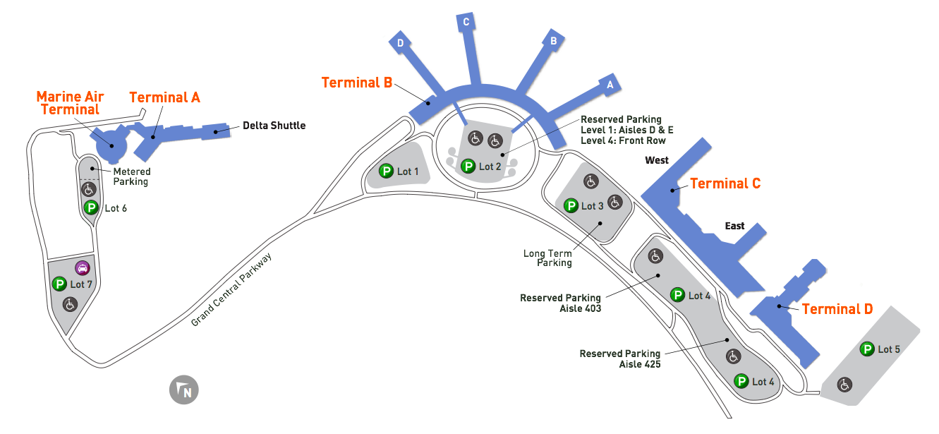 LaGuardia_Airport_Map