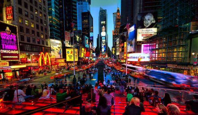 экскурсия по ночному Нью-Йорку 3