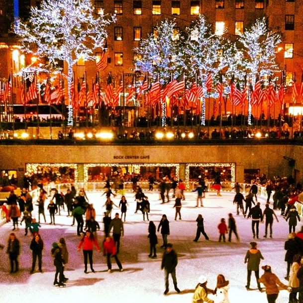 Skating rink at Rockefeller