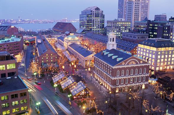 Экскурсия в Бостон
