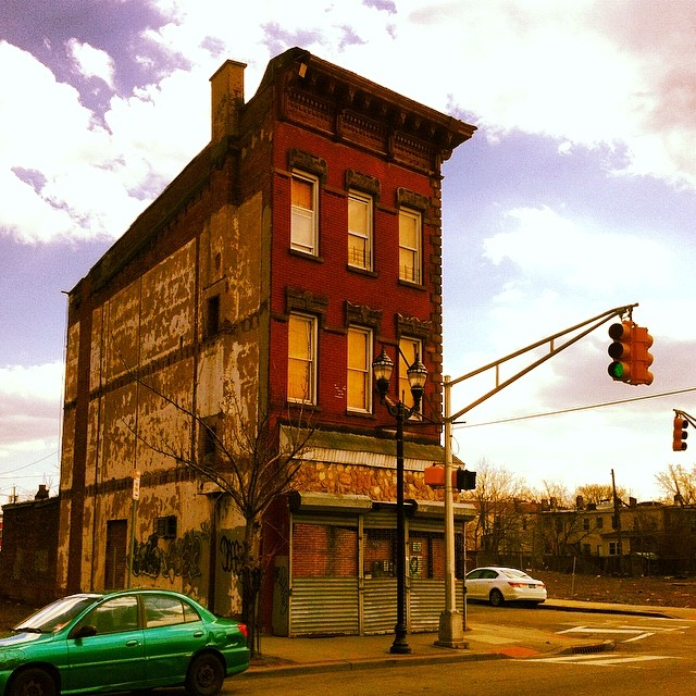Заброшенный особняк в Нью-Джерси