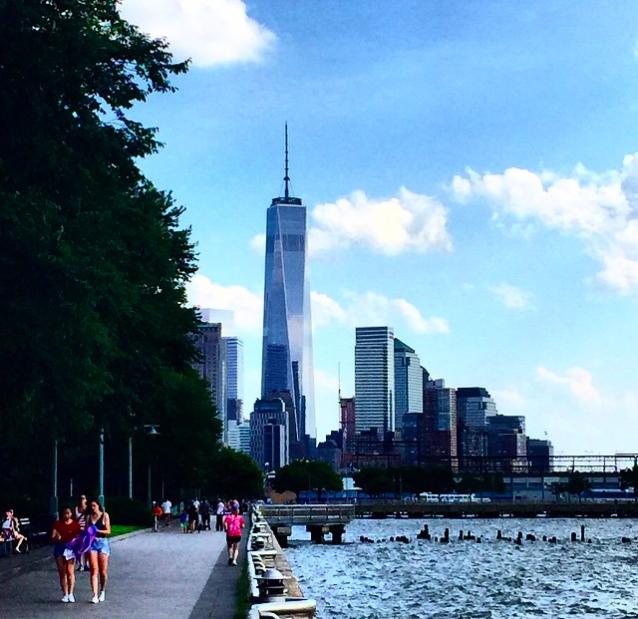 Вид на Манхеттен_One_WTC