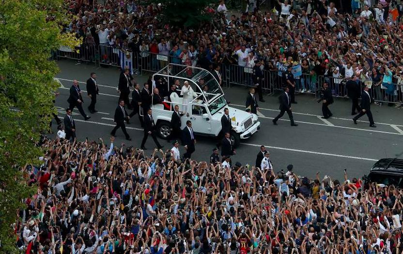 Папа Римский в Нью-Йорке_8