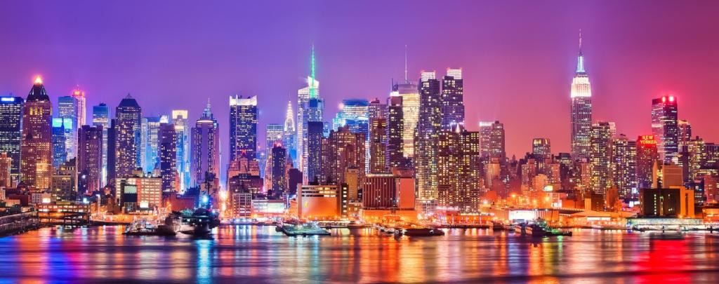Ночная экскурсия по Нью-Йорку
