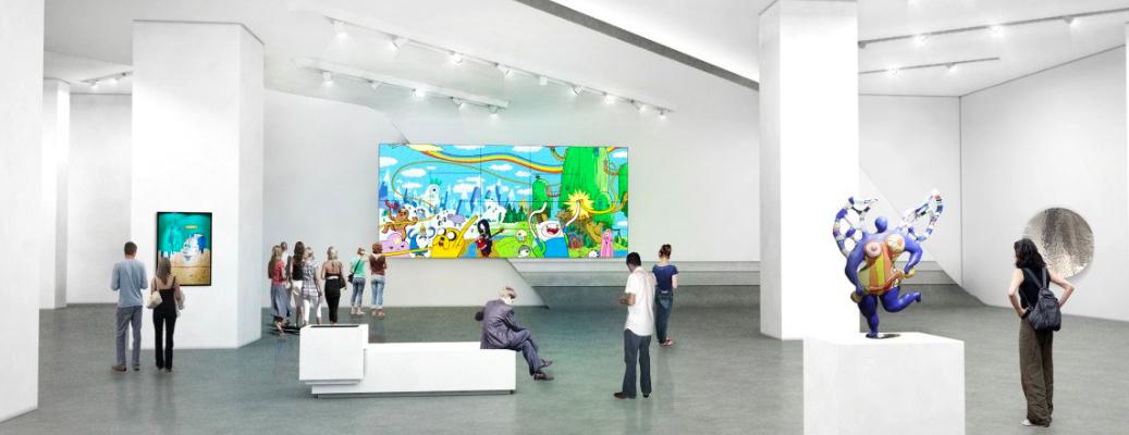 частные галереи Нью-Йорка
