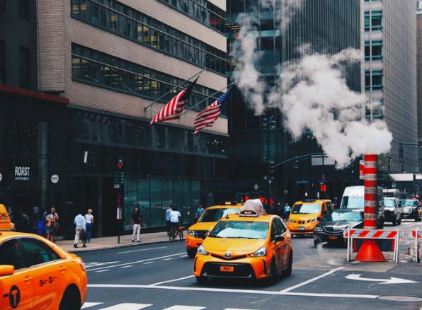 Нью-Йорк_такси 1