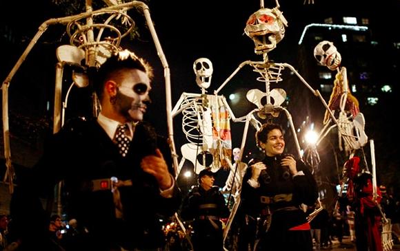 Хэллоуин Парад 2018 в Нью-Йорке 2