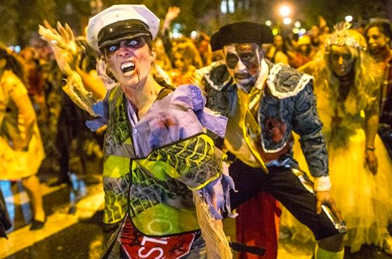 Хэллоуин Парад 2018 в Нью-Йорке 4