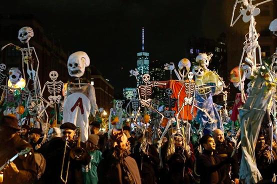 Хэллоуин Парад 2018 в Нью-Йорке 5