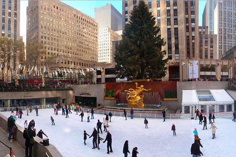Лучшие Ледовые Катки Нью-Йорка 1