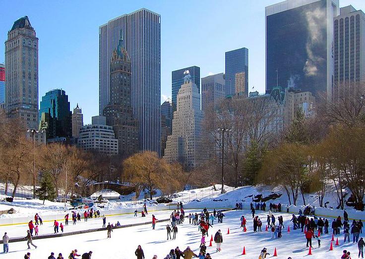 Лучшие Ледовые Катки Нью-Йорка 2