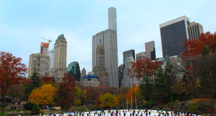 Лучшие Ледовые Катки Нью-Йорка