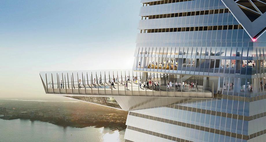 Новая смотровая площадка Нью-Йорка