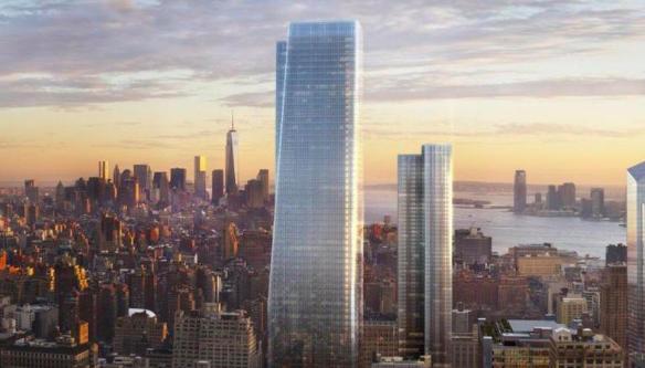 Новые небоскребы Нью-Йорка 1
