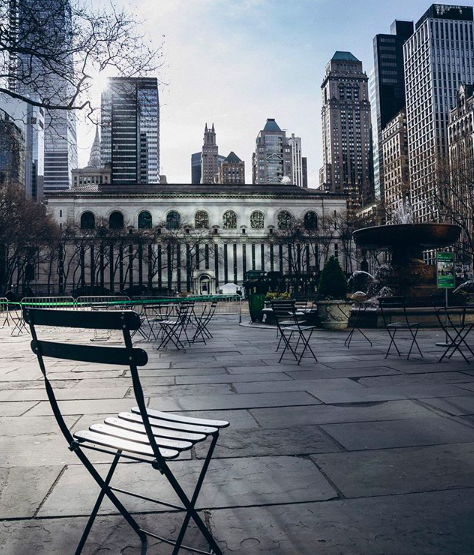 Пустые улицы Нью-Йорка-8