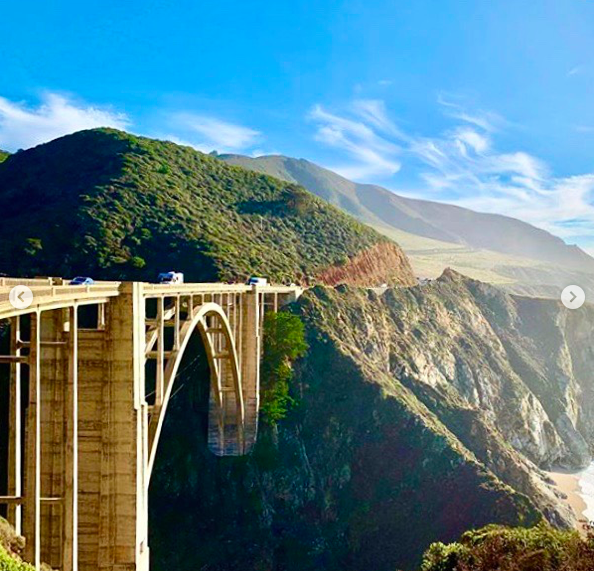 Дорога 1 в Калифорнии 7